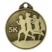50mm 5K Running Medal